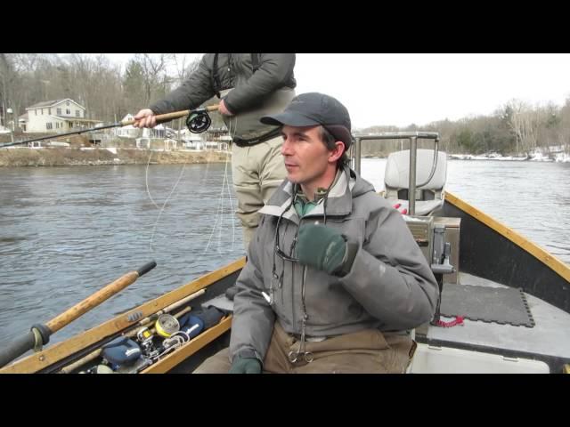 Michigan steelhead with guide Nathan Hulst