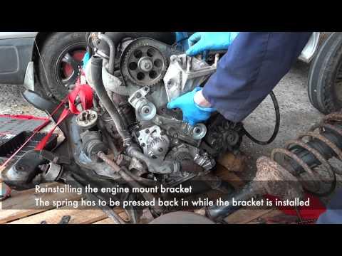 Peugeot/Citroen XUD Timing Belt Replacement