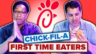 People Try Chick-Fil-A For the First Time