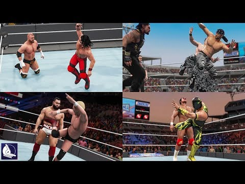 Every Superkick in WWE 2K18 (PS4, XBOX ONE)