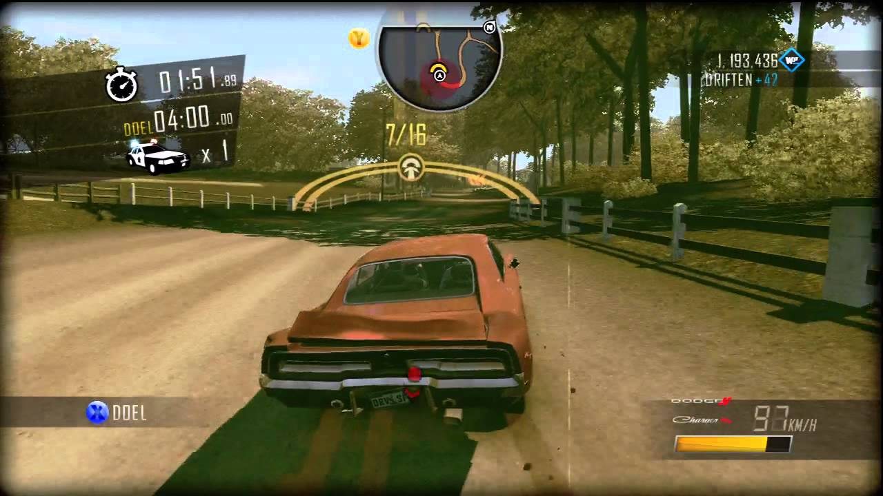 Dukes Of Hazzard Car Games Free