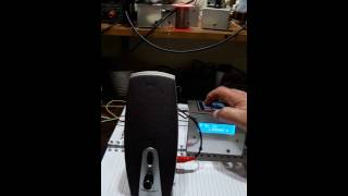 ARDUINO SPEAKING FREQUENCYMETER  2