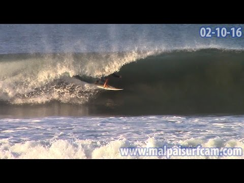 Santa Teresa, www malpaisurfcam com 02 10 16 Surfing Mal Pais Costa Rica