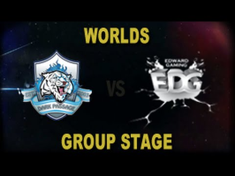 DP vs EDG - 2014 World Championship Groups A and B D3G5