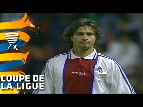 Paris Saint-Germain - SC Bastia (2-0) - Finale Coupe de la Ligue 1995 - Résumé
