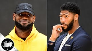 Anthony Davis won't get LeBron to play great defense in regular season - Amin Elhassan | The Jump