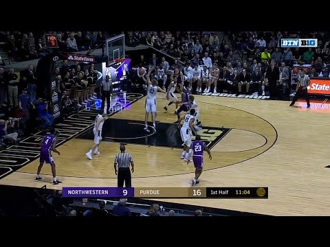 Matt Haarms Monster Block vs. Northwestern