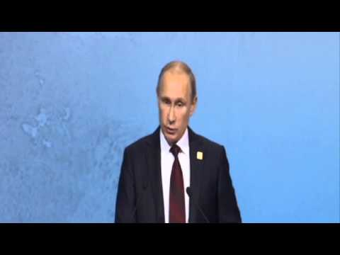Vladimir Putin, President of the Russian Federation, at the APEC CEO Summit