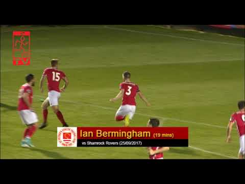 Goal: Ian Bermingham (vs Shamrock Rovers 25/09/2017)