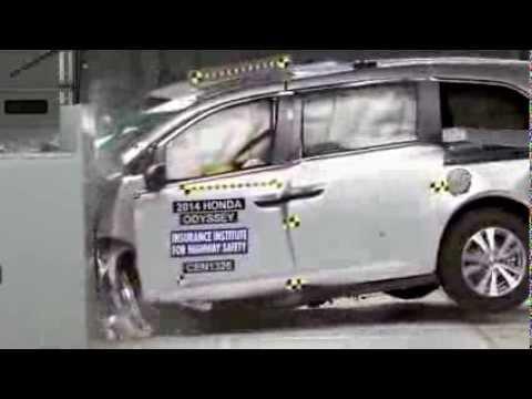2014 Honda Odyssey, краш-тест