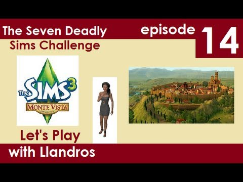 Let's Play The Sims 3 - Seven Deadly Sims -  Episode 14