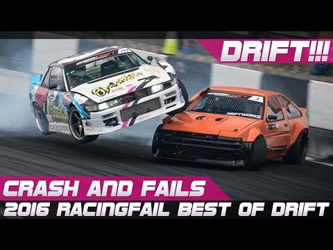 BEST OF DRIFT CRASH AND FAILS 2016 COMPILATION