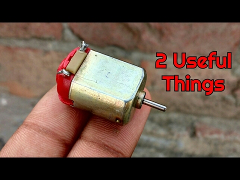 2 Incredible Gadgets From DC Motor | Life Hacks