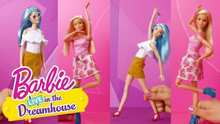 Una larga visita | Barbie LIVE! In The Dreamhouse | Barbie España
