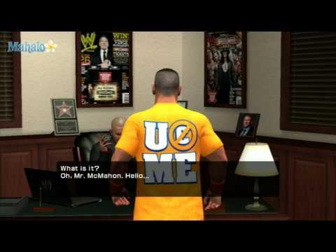 Smackdown Vs Raw 2011 - Road to Wrestlemania - John Cena No DQ Part 1