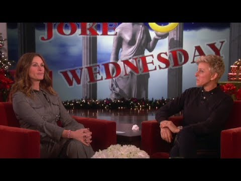 Ellen and Julia Roberts Scare Julia Louis-Dreyfus on Ellens Show