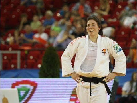 Interview Kim Polling (NED) -70kg ECh Budapest 2013