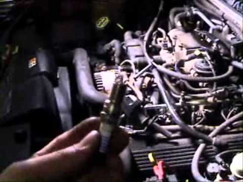 2003 Ford Explorer Spark Plug Changing Location Removal Replacement Tune Up
