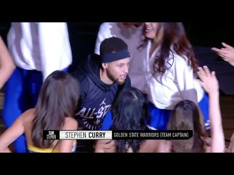 Team Stephen 2018 All-Star Practice Introductions