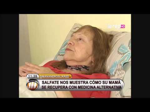 Mamá de Salfate se somete a terapias alternativas