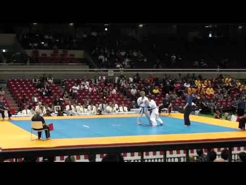 Julie Lamarre vs  @ 10th World Open Kyokushin Karate Tournament Image 1