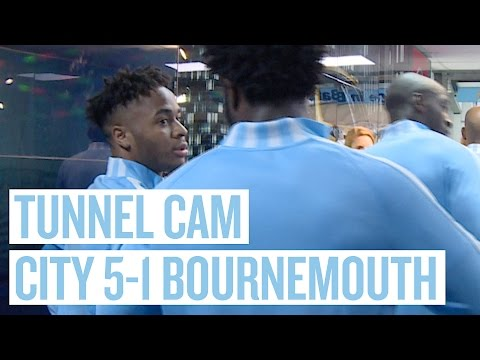 TUNNEL CAM | City 5-1 AFC Bournemouth