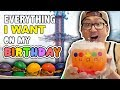 Getting EVERYTHING I WANT on my Birthday 🎂 24 HOUR CHALLENGE