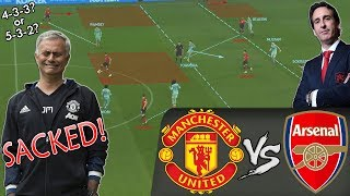 Why Mourinho Needed To Rethink His Tactics To Improve Manchester United: Man United vs Arsenal