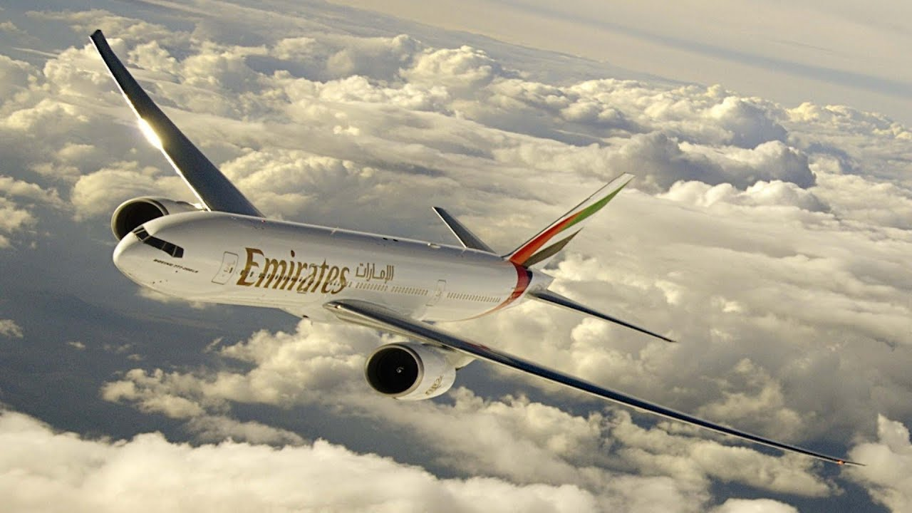 Boeing 777 300 emirates take off amsterdam youtube - Emirates camera ...