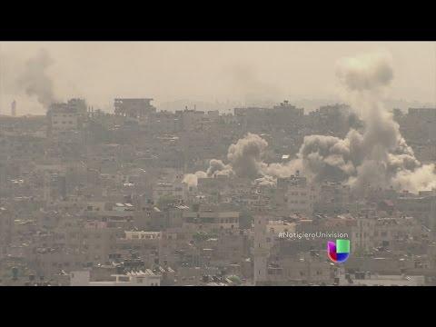 La paz se aleja cada día más de Gaza, Israel y Hamas se resisten a ceder en su guerra