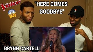 "Download Lagu The Voice 2018 Knockout - Brynn Cartelli: ""Here Comes Goodbye"" (REACTION) Gratis STAFABAND"