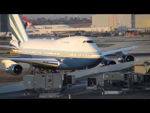 (RARE!!!) Las Vegas Sands Corporation Boeing 747SP [VQ-BMS] Taxiing At LAX