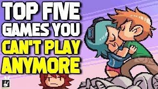 Top Five Video Games You Can't Play Anymore - rabbidluigi