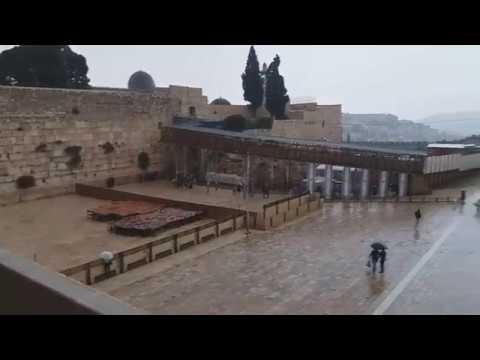 Severe Weather Strikes Israel