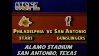 1984 USFL Week 9 - ESPN Highlights