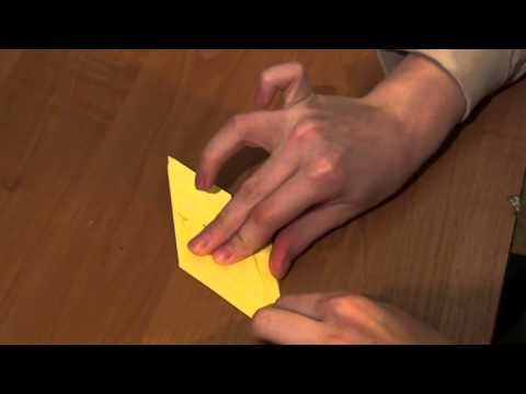 Оригами цветок ириса (видеоурок)  http://nashydetky.com