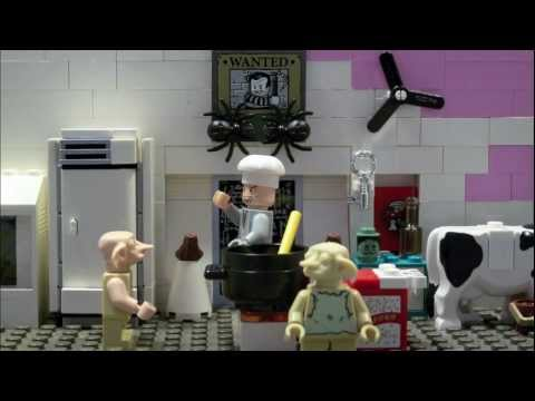 LEGO HARRY POTTER-COOKING WITH WORMTAIL-ELF ICE CREAM
