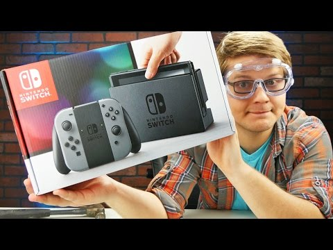 MANCHILD NINTENDO SWITCH UNBOXING