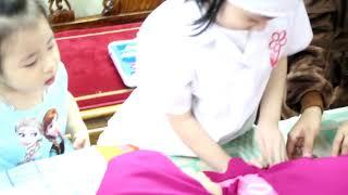 Bé Bống khám bệnh cho bé Rùa💗Đồ chơi trẻ em làm bác sĩ