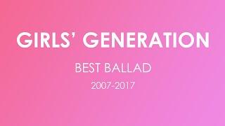 Download Lagu Girls Generation best ballad 2017 collection Gratis STAFABAND