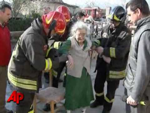 98-year-old Woman Found 2 Days After Italy Quake
