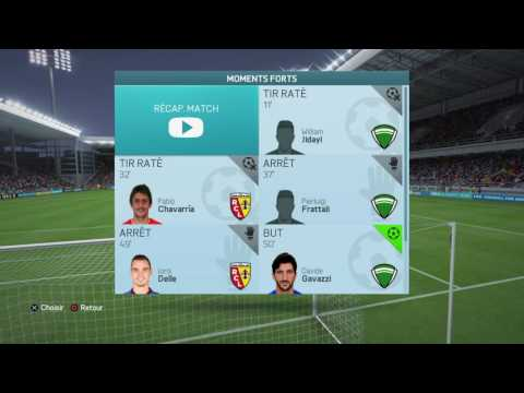 FIFA 16 Online : Sang et or VS World : Bonus 002 : De goal à goal !!! Bravo Quentin E.