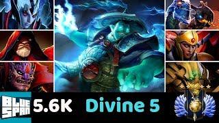 DIVINE 5 VS WARL VS LION JAKI LC STORM SK