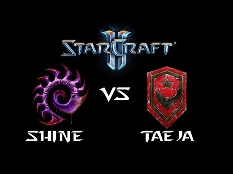 StarCraft 2 - Shine [Z] vs TaeJa [T] (Commentary)