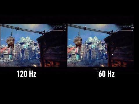 Monitörlerde 60 Hz ve 120 Hz arasında ne fark var?
