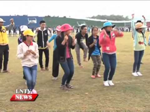 LAo NEWS on LNTV: Almost 3000 students in Oudomxay province prepares for national games.23/10/2014