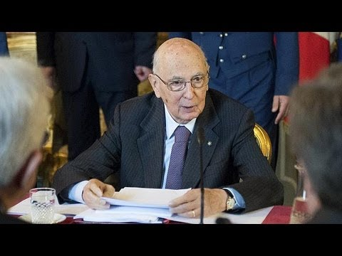 Réélu, Giorgio Napolitano sort provisoirement l'Italie de l'impasse
