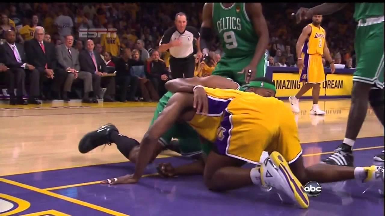 NBA Finals 03.06.2010 - G1 - Celtics vs Lakers - Ron ...