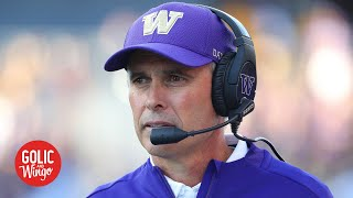 Chris Petersen stepping down as Washington's head coach | Golic and Wingo