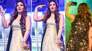 Raveena Tandon Dancing In Ankhiyon Se Goli Mare Song | Dulhe Raja | 8th Film Fair Award